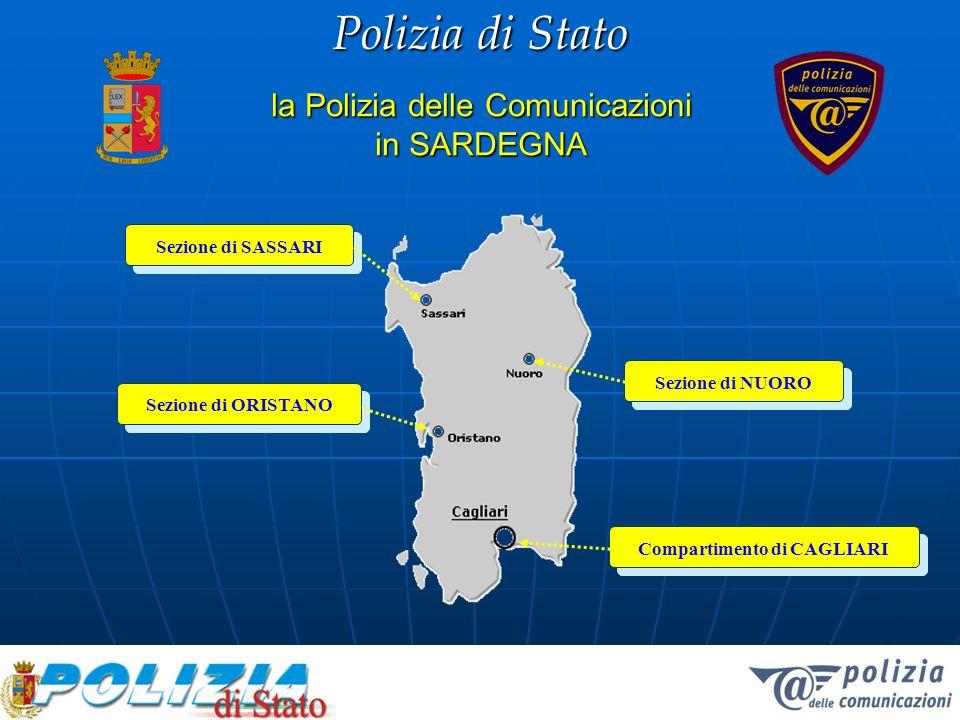 Polizia di Stato I numeri in questa regione 548 le denunce presentate alla Polizia Postale (esc.