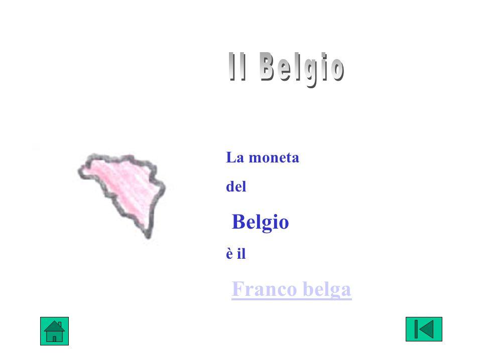 La moneta del Belgio è il Franco belga