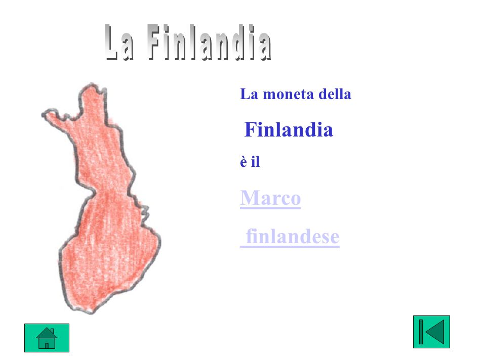 La moneta della Finlandia è il Marco finlandese
