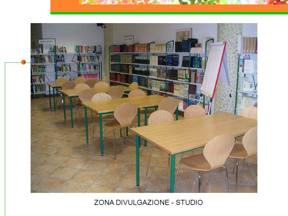 ZONA DIVULGAZIONE - STUDIO
