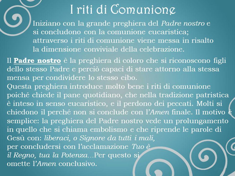 Dossologia Con questo termine si indica la gloria e si fa riferimento alla parte finale della Preghiera Eucaristica, precisamente a: Per Cristo, con C