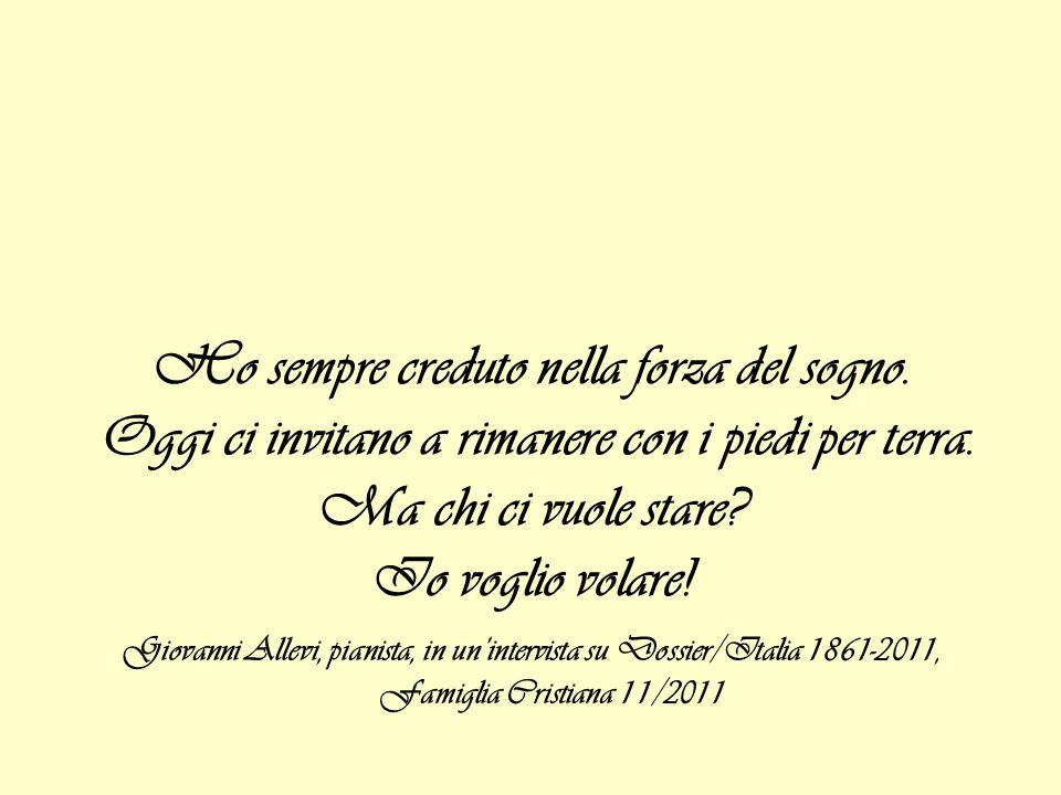 Elenco dei motivi per festeggiare i 150 anni dellUnità dItalia di Roberto Saviano -Perché sono italiano -Perché sono napoletano e da Napoli è partita lidea ed è partito il sogno di unItalia unita, repubblicana, non disgiunta dalla battaglia per la giustizia sociale -Per ricordare a chi vuole dividere lItalia che così facendo torneremo ad essere periferia di qualcun altro […] -Per Giuseppe Garibaldi […] simbolo di unItalia allavanguardia nel mondo sul piano sociale, dei diritti, delle libertà -Perché quando i leghisti abbandonano un luogo istituzionale perché si canta linno nazionale, beh allora capisci che stai facendo bene a fare qualcosa che i leghisti abbandonano -Perché sventolare il tricolore significa qualcosaltro, appartenere a quelle idee, a quei sogni e a quei progetti che furono di coloro che hanno costruito questo Paese […]quel tricolore significa qualcosa in più non qualcosa in meno -Perché italiano è Sandro Pertini, italiano Ferruccio Parri, italiano Pietro Calamandrei, italiano Norberto Bobbio, italiana Nilde Iotti, italiano Rocco Scotellaro, italiano Michelangelo Buonarroti, perché è bello appartenere ad una storia così -Perché sempre più italiani si sono resi conto e si rendono conto che lunico modo per far migliorare la propria vita, per realizzare la felicità è cambiare le cose, RISORGERE