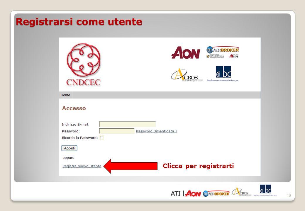 11 Seleziona Rc Professionale con visto di conformità/Tutela legale (entrambe le garanzie ozionabili su richiesta).
