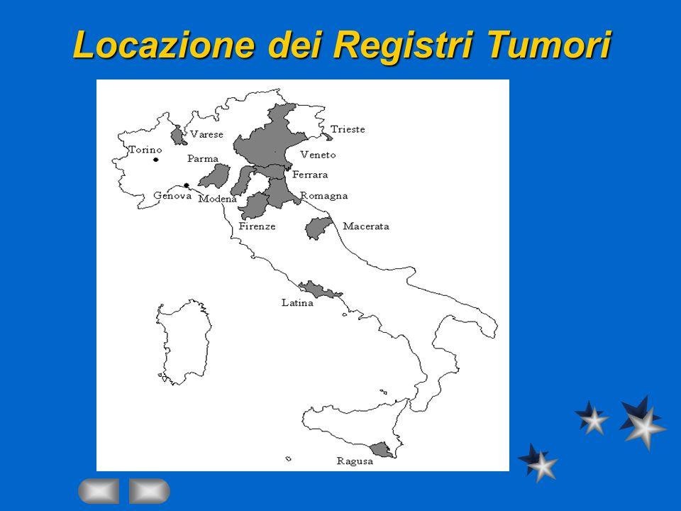 Locazione dei Registri Tumori
