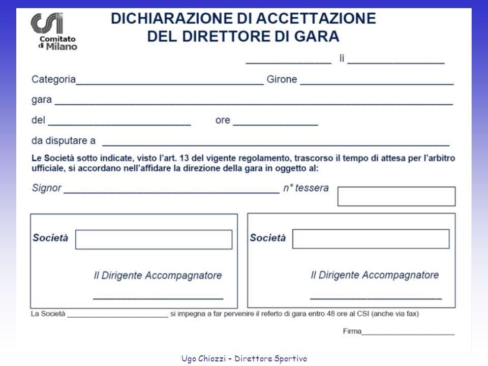 Ugo Chiozzi – Direttore Sportivo