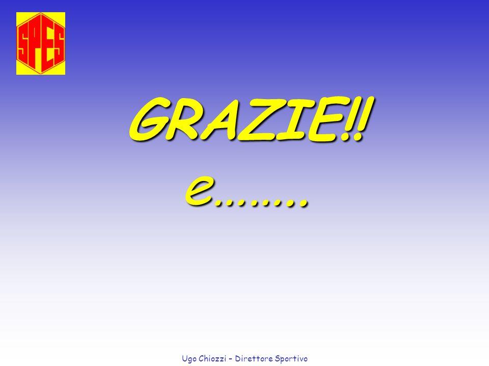 Ugo Chiozzi – Direttore Sportivo GRAZIE!! e……..