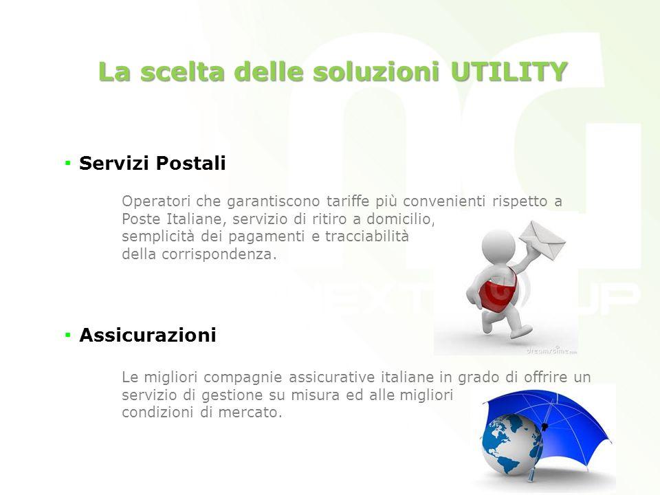 La scelta delle soluzioni UTILITY Servizi Postali Operatori che garantiscono tariffe più convenienti rispetto a Poste Italiane, servizio di ritiro a domicilio, semplicità dei pagamenti e tracciabilità della corrispondenza.