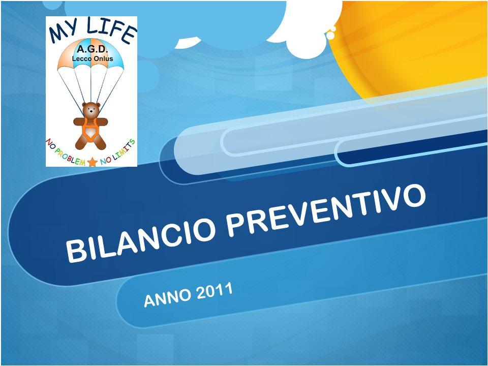 BILANCIO PREVENTIVO ANNO 2011
