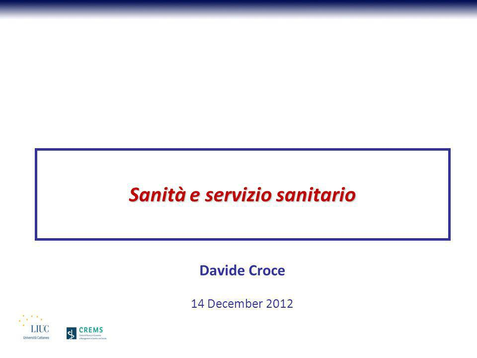 Spesa per età (Lombardia, 2010) Fonte: DG Sanità, RL, Carlo Zocchetti K