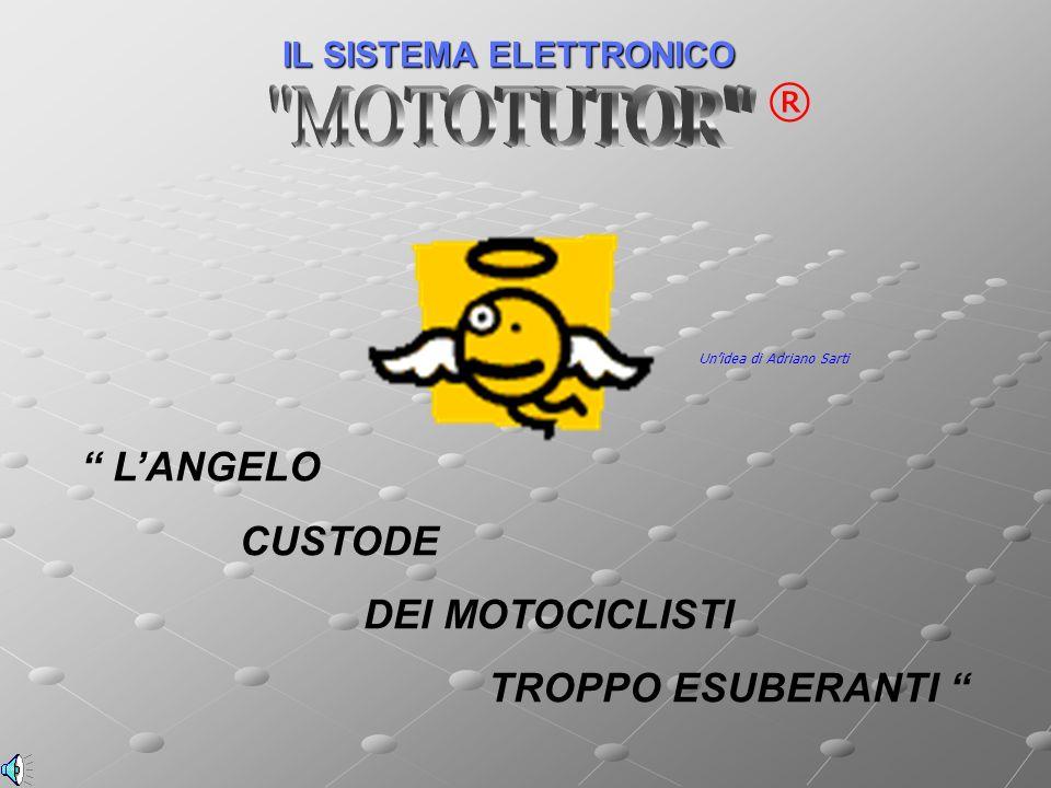 IL SISTEMA ELETTRONICO ® LANGELO CUSTODE DEI MOTOCICLISTI TROPPO ESUBERANTI Unidea di Adriano Sarti