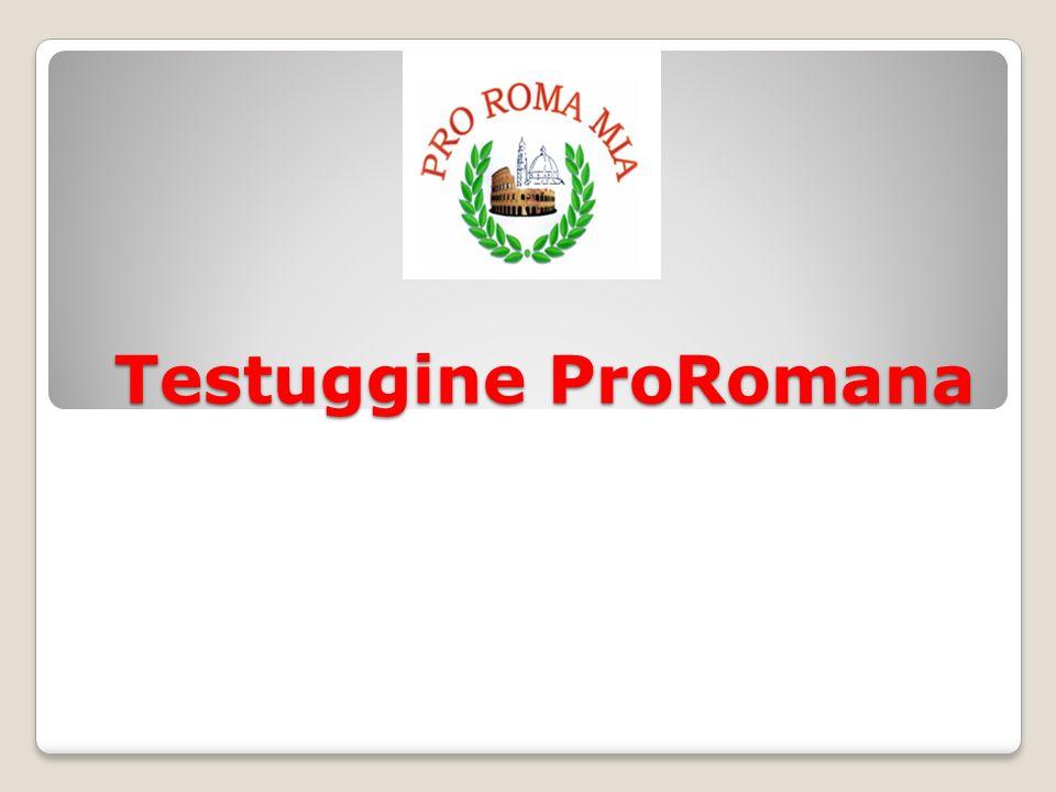 Testuggine ProRomana