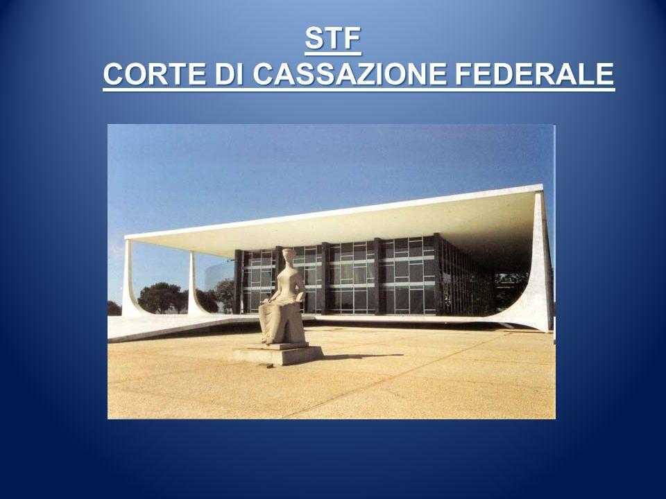 STF CORTE DI CASSAZIONE FEDERALE