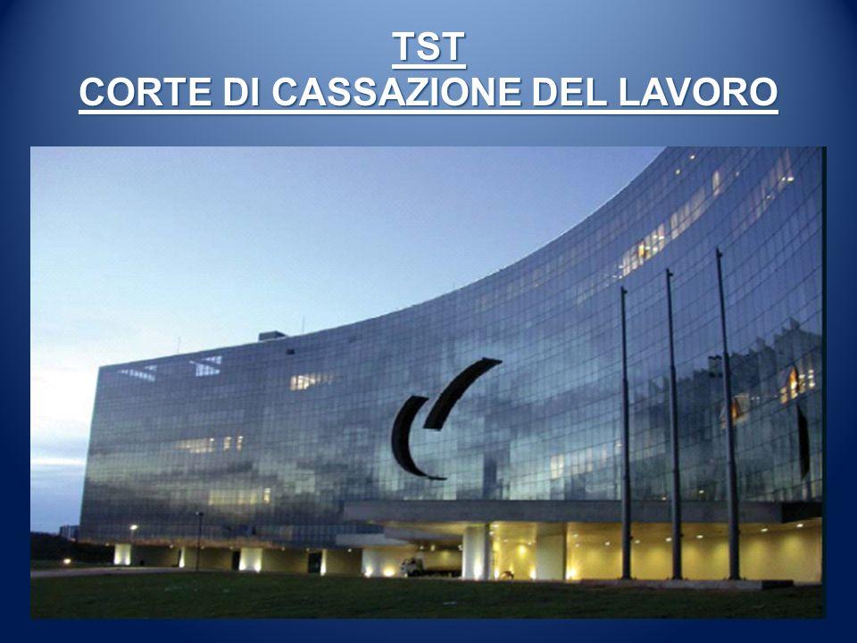 TST CORTE DI CASSAZIONE DEL LAVORO