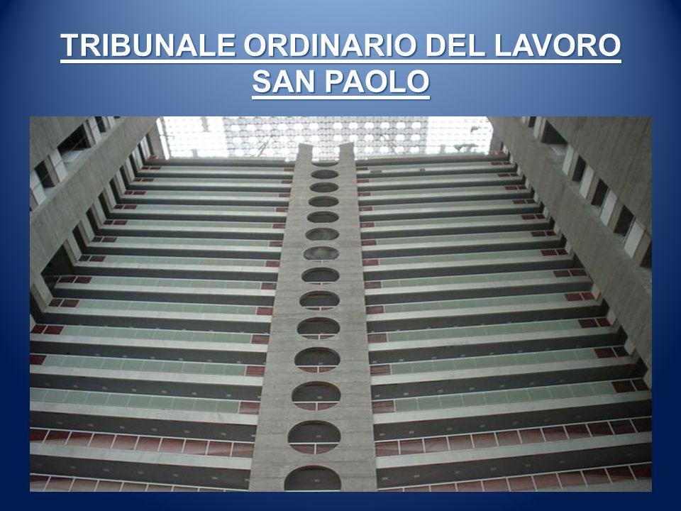 TRIBUNALE ORDINARIO DEL LAVORO SAN PAOLO