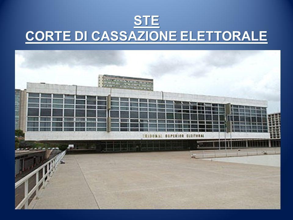 STE CORTE DI CASSAZIONE ELETTORALE