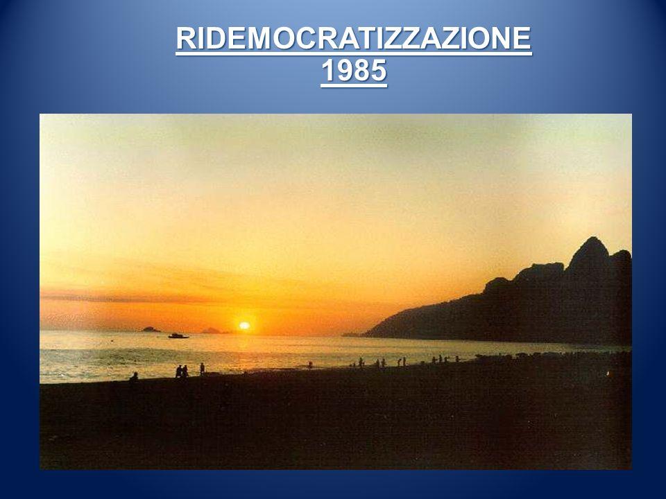 RIDEMOCRATIZZAZIONE 1985