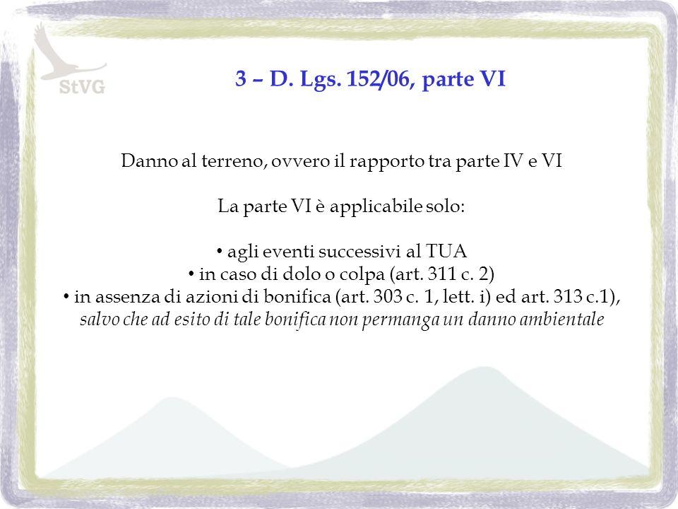 3 – D. Lgs.