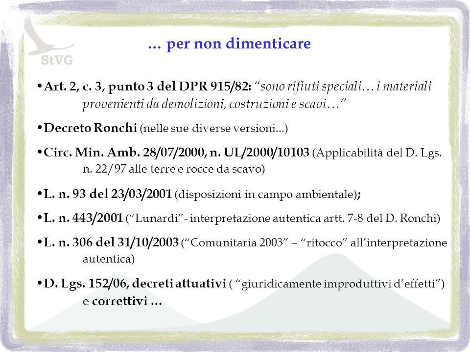 …e i decreti attuativi - 3 il D.M.