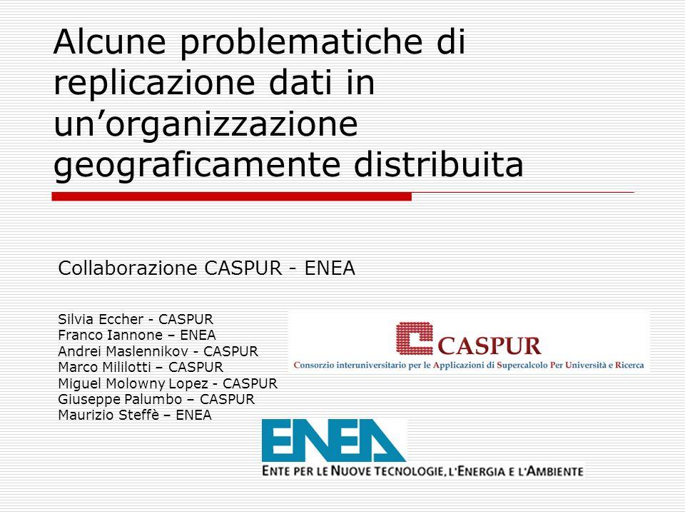Link utili www.caspur.it www.enea.it http://doc.in2p3.fr/bbftp/ http://samba.anu.edu.au/rsync/ www.mysql.com www.perl.com