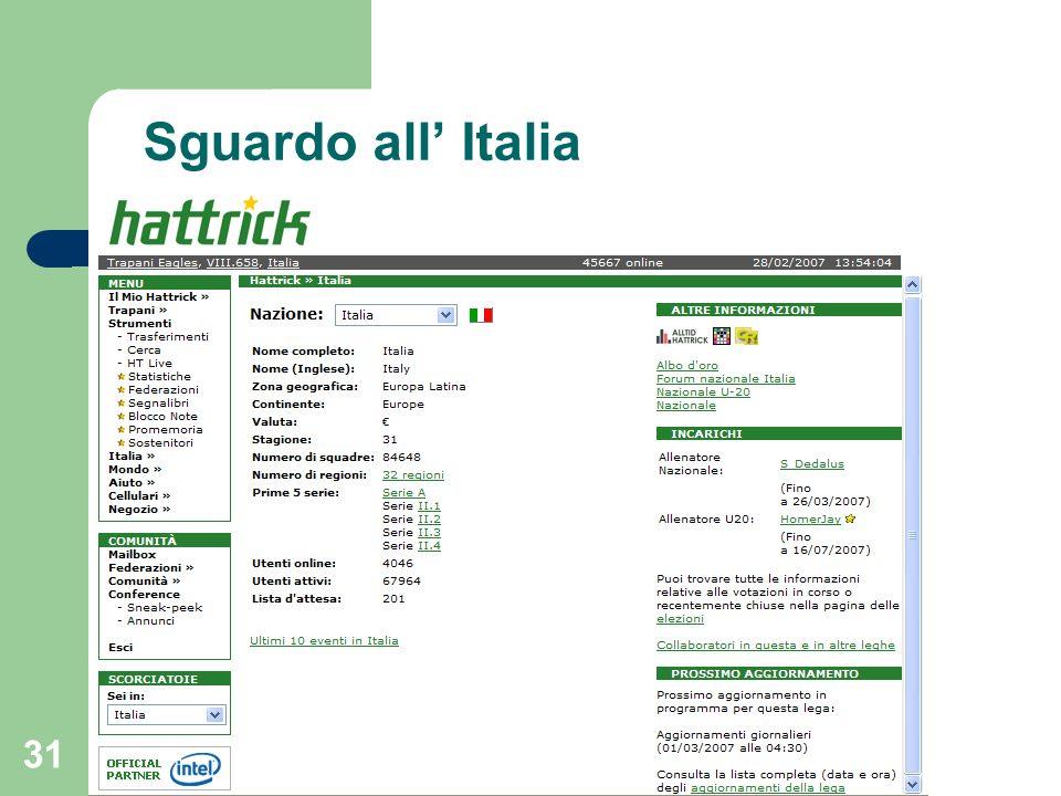 31 Sguardo all Italia