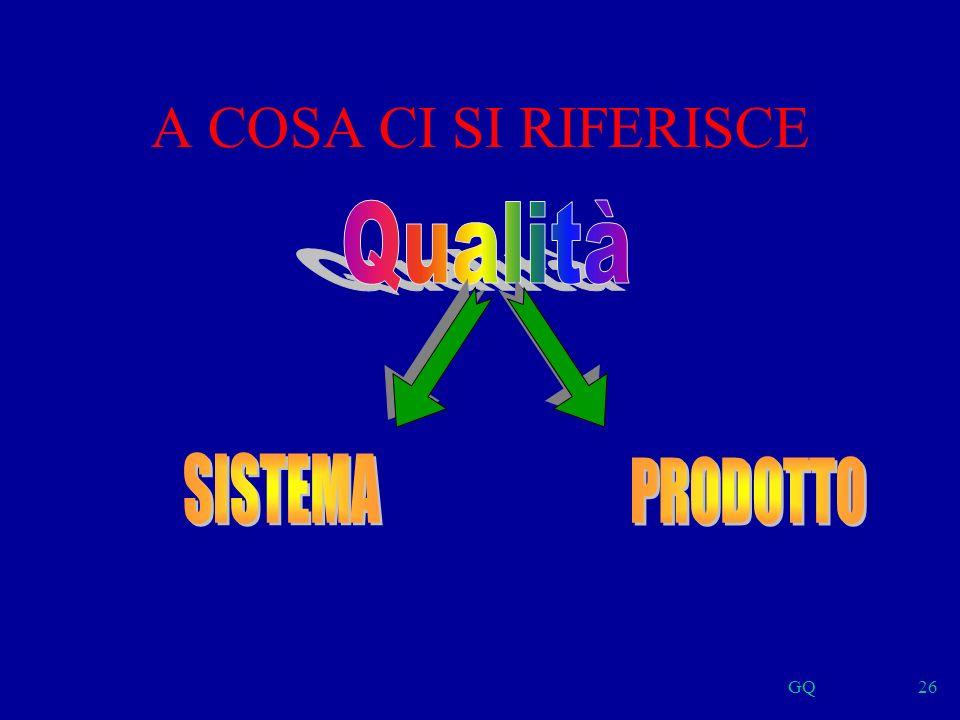 GQ26 A COSA CI SI RIFERISCE
