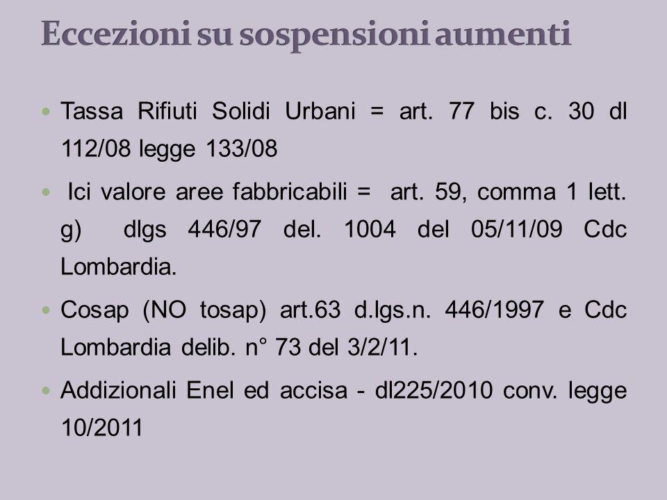Taglio Trasferimenti (Comuni Sup. a 5.000 abitanti) - art.