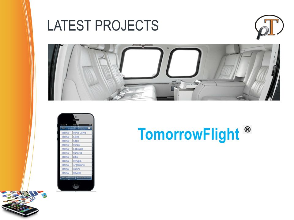 TomorrowFlight LATEST PROJECTS