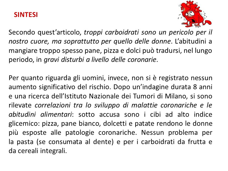 COMUNICAZIONE SCIENTIFICA RICERCA SU GOOGLE SCHOLAR IN INGLESE http://scholar.google.it/schhp?hl=it PAROLE CHIAVE: CARBOHYDRATES AND ARTERIES Rivista online: The American Journal of Cardiology, Link: http://www.ajconline.org/http://www.ajconline.org/ Titolo articolo: Lipid and carbohydrate abnormalities in patients with angiographically documented coronary artery disease, Volume 24, Issue 2