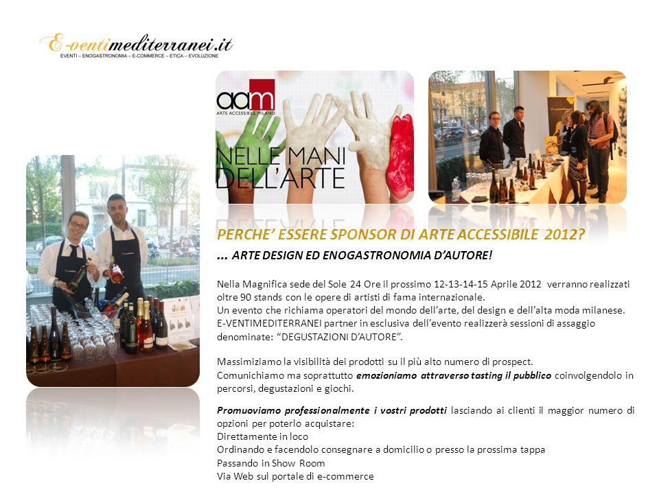 COSE ARTE ACCESSIBILE.Arte Accessibile Milano 12-15 Aprile 2012.