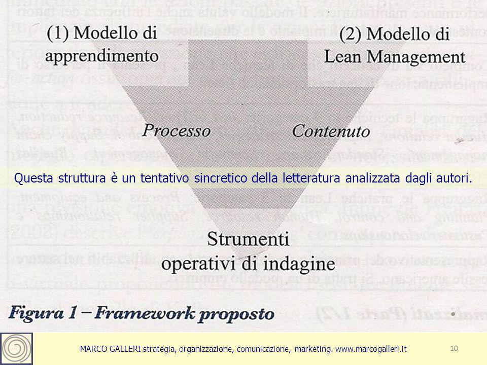 10 Questa struttura è un tentativo sincretico della letteratura analizzata dagli autori.