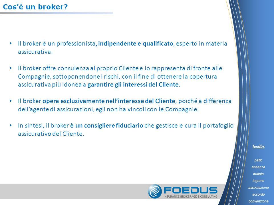 Cosè un broker? Il broker è un professionista, indipendente e qualificato, esperto in materia assicurativa. Il broker offre consulenza al proprio Clie