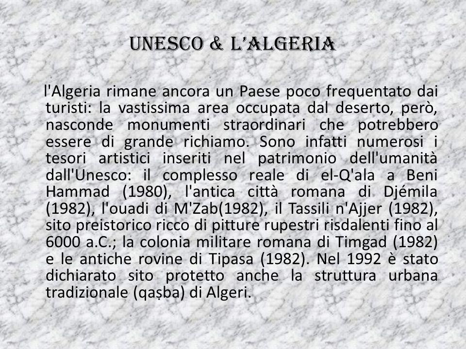 Artisti algerini Nel periodo coloniale nacque Mohammed Racim che, divenuto famoso in patria, fu molto apprezzato anche in Francia.