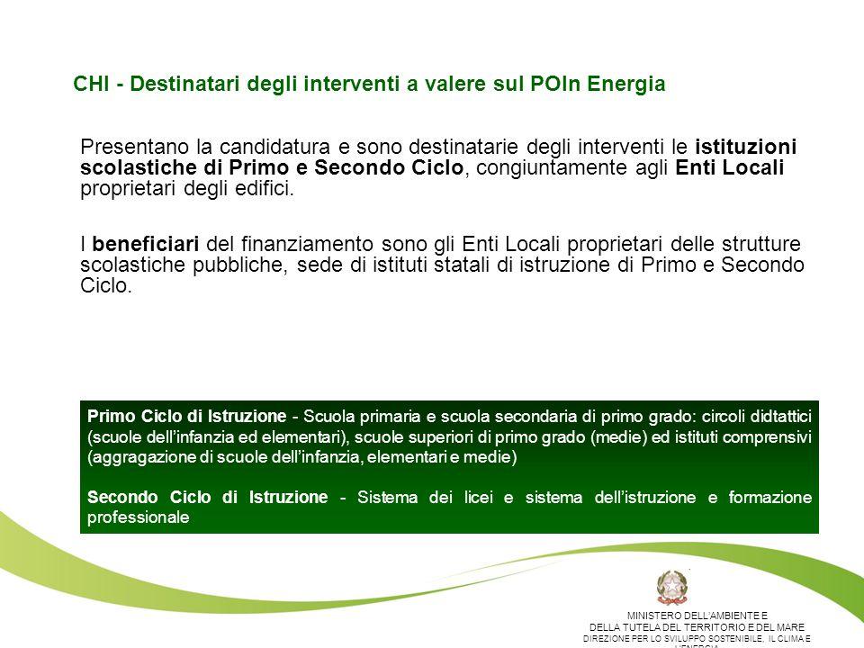 QUANTO - Risorse disponibili a valere sul POIn Energia Il MATTM – DG SEC si impegna a destinare fino ad un massimo di 20 MEuro a valere sul POIn Energia per il finanziamento dei piani di efficientamento e risparmio energetico oggetto dellAvviso.