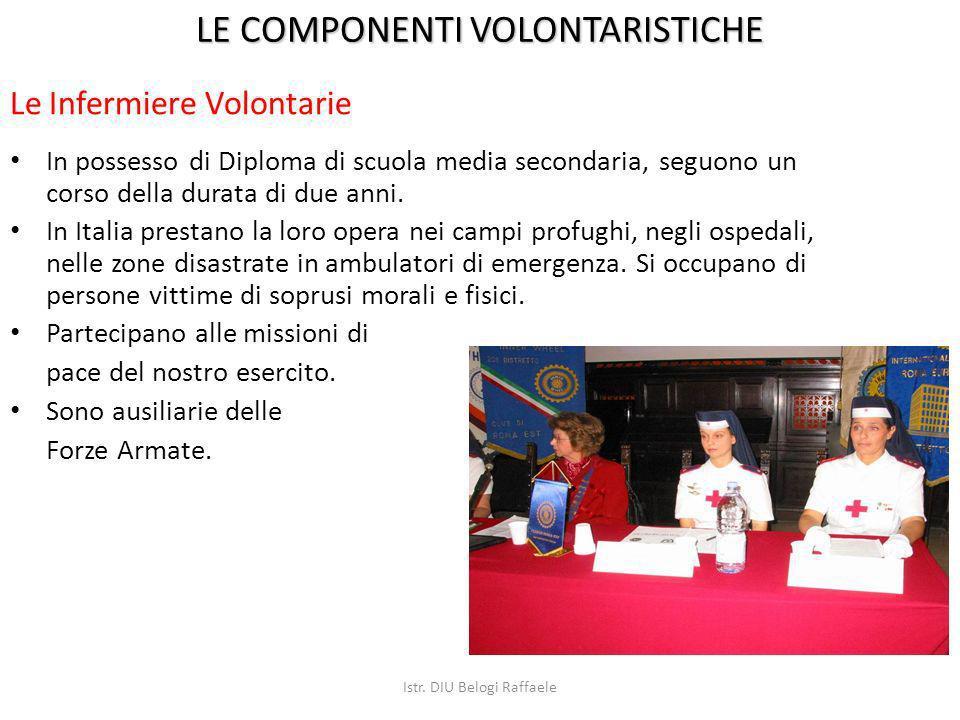 In possesso di Diploma di scuola media secondaria, seguono un corso della durata di due anni. In Italia prestano la loro opera nei campi profughi, neg