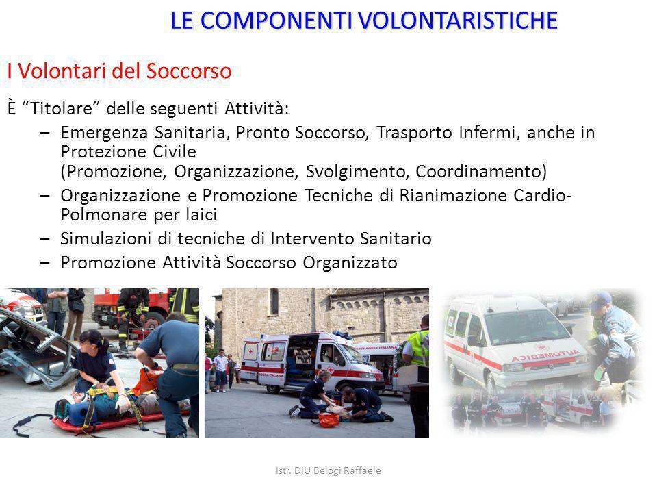 È Titolare delle seguenti Attività: –Emergenza Sanitaria, Pronto Soccorso, Trasporto Infermi, anche in Protezione Civile (Promozione, Organizzazione,
