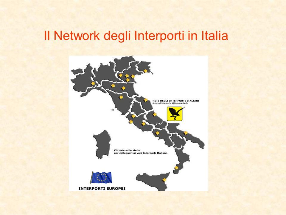 Il Network degli Interporti in Italia