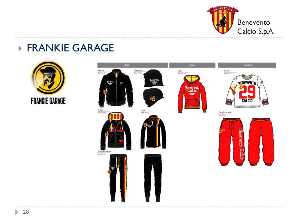 Benevento Calcio S.p.A. FRANKIE GARAGE 28