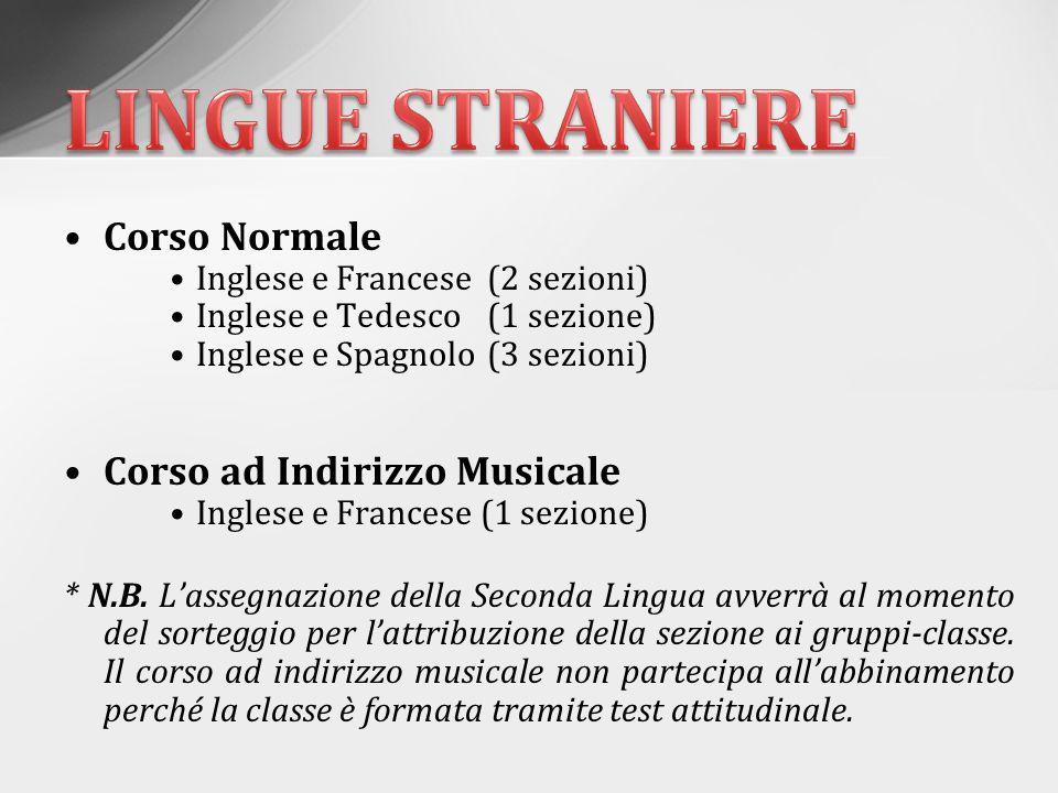 Strumenti Flauto traverso Pianoforte Chitarra classica Violino Modalità di Accesso tramite test attitudinale effettuato in primavera (selezione di 24 alunni) * N.B.