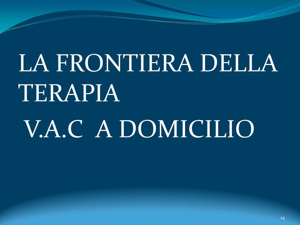 LA FRONTIERA DELLA TERAPIA V.A.C A DOMICILIO 14