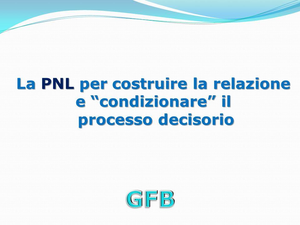 La PNL per costruire la relazione e condizionare il processo decisorio