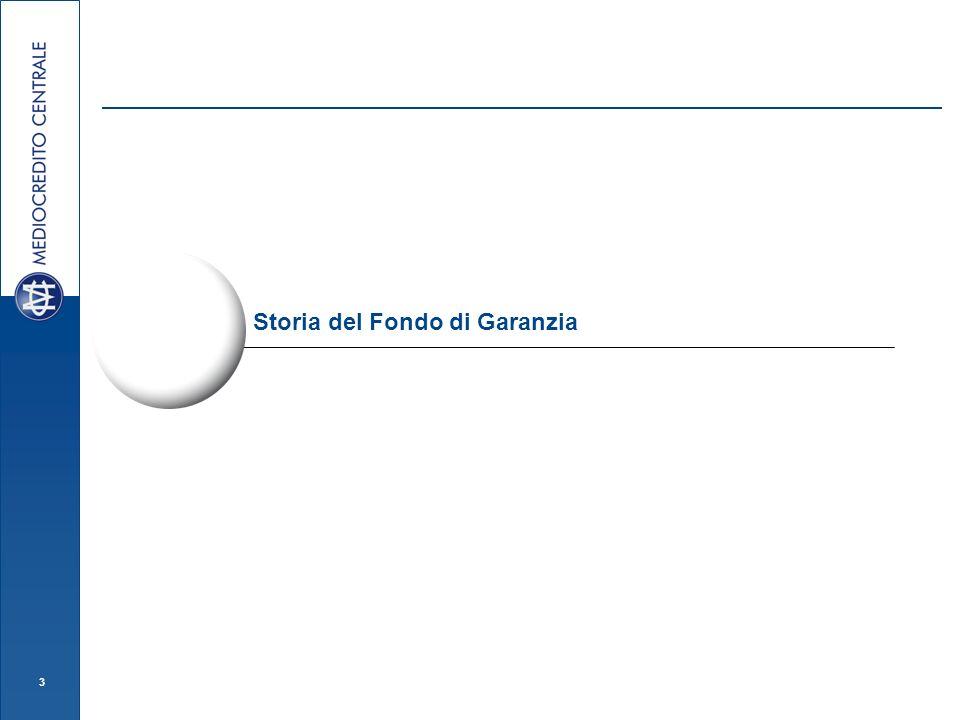 3 Storia del Fondo di Garanzia