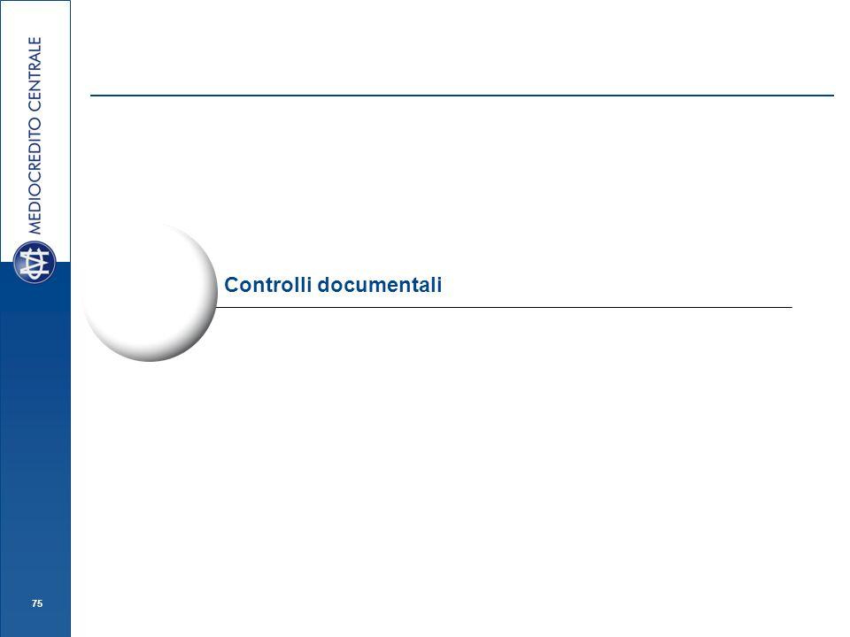 75 Controlli documentali