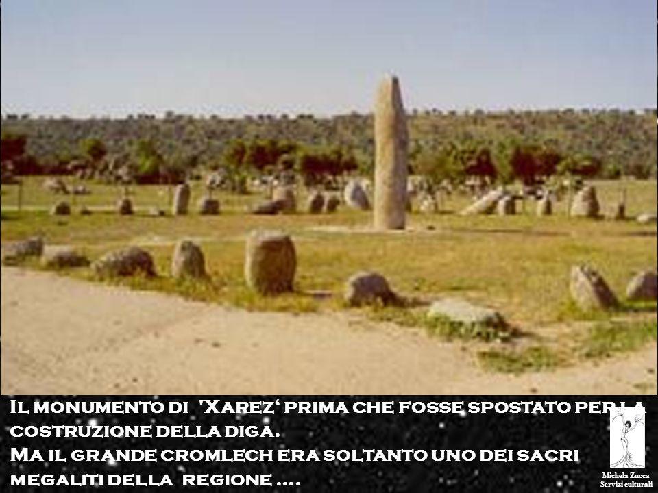 Michela Zucca Servizi culturali Il monumento di 'Xarez prima che fosse spostato per la costruzione della diga. Ma il grande cromlech era soltanto uno