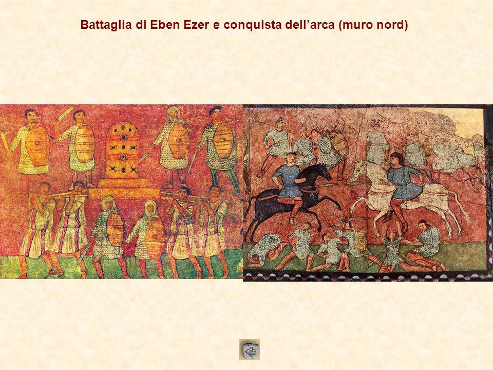 Passaggio del Mar Rosso e disfatta dellesercito egizio (muro ovest)