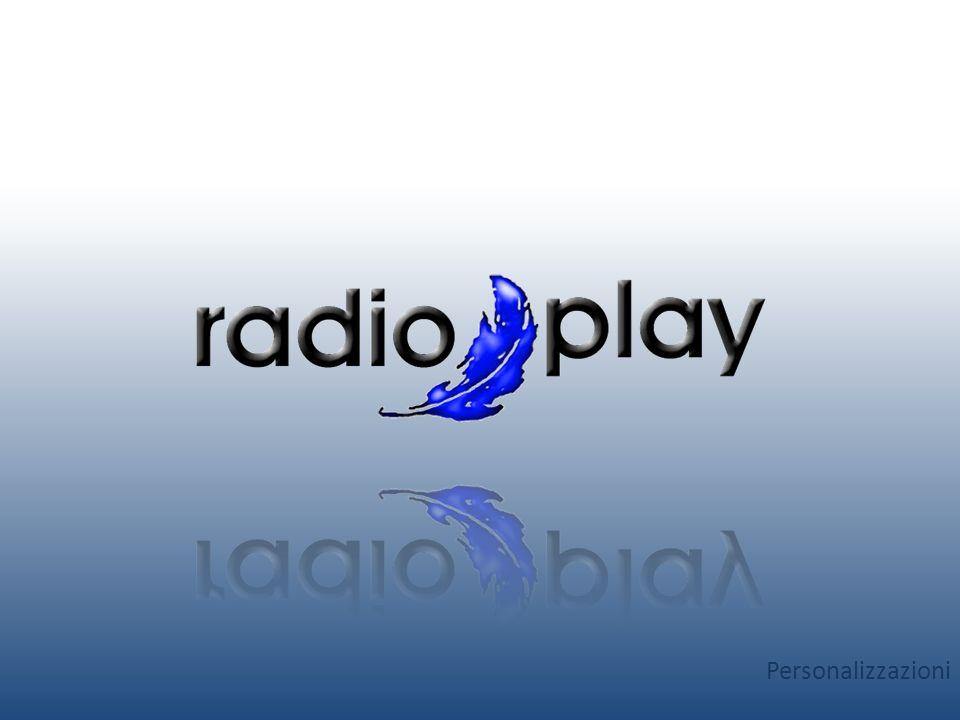 Perché personalizzare Radio-Play Personalizzare Radio-Play permette al tuo brand di crescere e di diffondersi in modo gratuito e potenzialmente infinito grazie al passaparola spontaneo degli utenti.