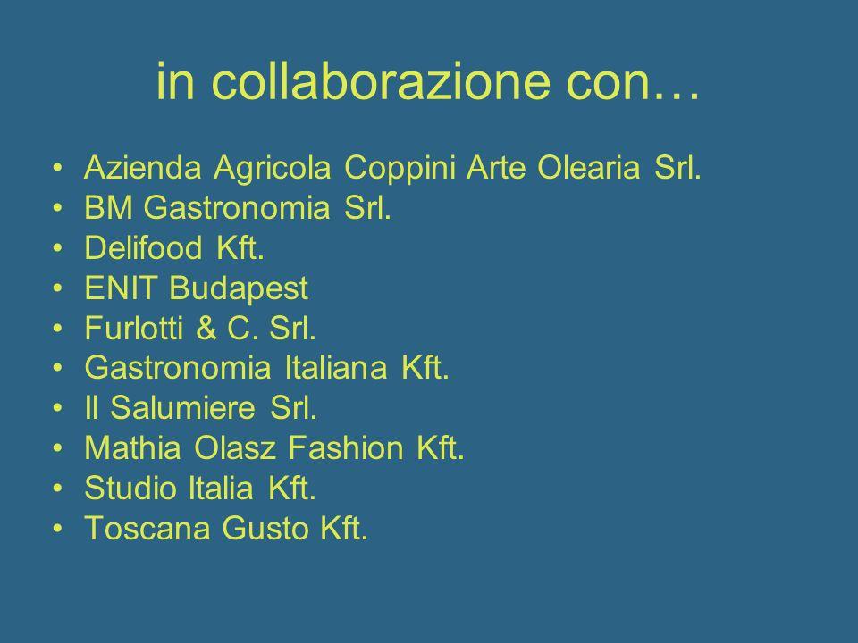 in collaborazione con… Azienda Agricola Coppini Arte Olearia Srl.