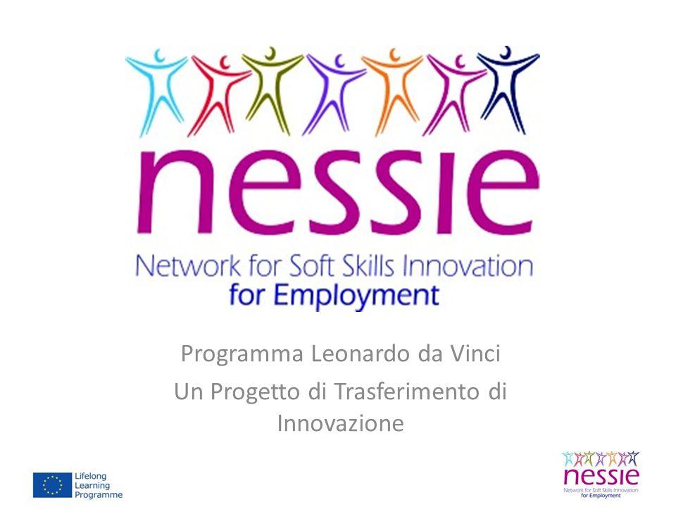 Visita il sito www.NESSIE- project.org per ricevere la nostra newsletters www.NESSIE- project.org