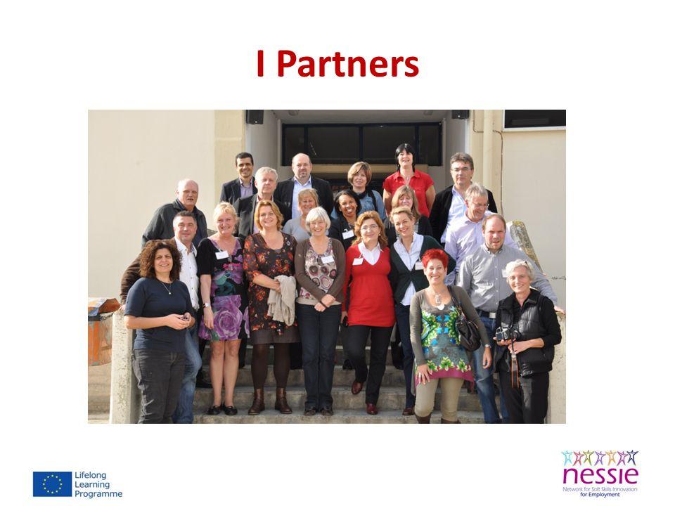NESSIE Networks Le reti di comunicazione sono state strutturate a livello locale, regionale e nazionale per coinvolgere nuovi stakeholders e promuovere i prodotti e le attività di progetto in relazione allo sviluppo delle soft skills nel mondo del lavoro.