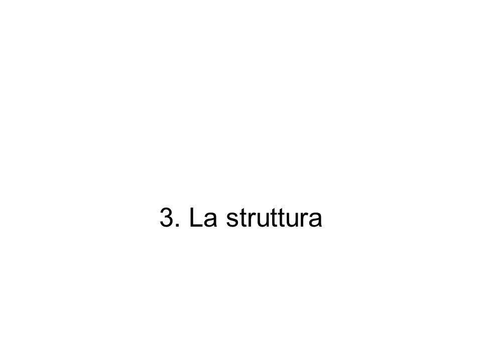 3. La struttura