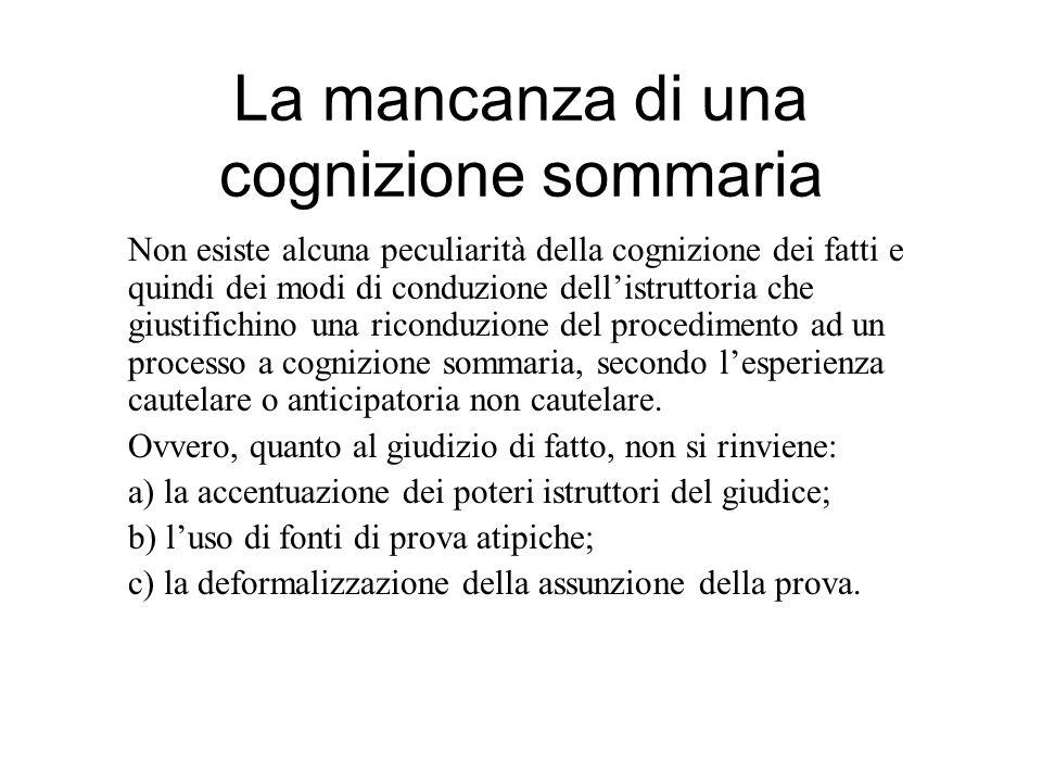 Giurisprudenza chiamata iussu iudicis Tribunale di Verona 05 -02- 2010 Nel nuovo rito sommario, regolato dagli art.